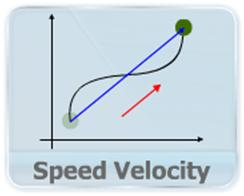 This video explains the magnitude and direction average velocity, speed and instantaneous velocity for 2-D and 3-D motion. Average velocity is defined as the vector sum of average velocities along individual axes.