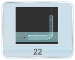 A tube bent at right angle is lowered into a water stream, as shown in figure. The velocity of the steam relative to the tube is v. The closed upper end of the tube situated at a height h0 from the water surface has a small orifice. Find the height h up to which the water jet will spurt