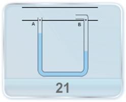 A pitot tube is mounted along the axis of a gas pipeline having cross-sectional area A. If the densities of the liquid and the gas and the difference in the height of liquid columns in the two arms of the pitot's tube is given, find the speed of gas flowing across the section of the pipe.