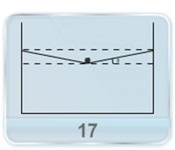 A container of a given width is filled with a liquid. A uniform wire of known mass per unit length is gently placed on the middle of the surface is depressed by a given distance. The surface tension of liquid is ..?