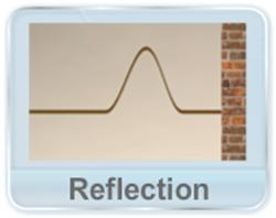 Mechanical Waves - This video explains the reflection of a transverse wave from a fixed or movable support at the other end of the medium and the relative equation of the reflected wave. It also explains the superposition of initial and reflected wave.