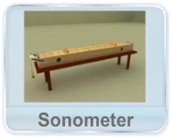 Mechanical Waves - This video explains the construction, mechanism and working of a sonometer; an instrument used to verify the dependence of fundamental frequency of a transverse wave on length, tension and linear mass of the string.