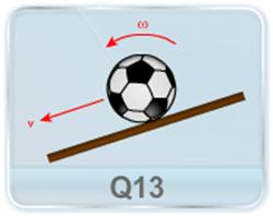 Given that a ball roll down a rough incline plane without slipping as shown in figure, is there a point with respect to which the angular momentum of the ball is conserved?