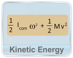 This video illustrates the derivation of kinetic energy equation for a rigid body moving under the combination of translational and rotational motion.