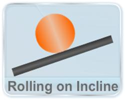 the dynamics of the rolling on an inclined rough plane and the dependence of acceleration and velocity at the bottom on the moment of inertia of the object