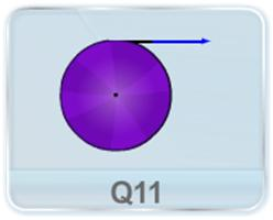 A thread is wound over a ring, disc, and sphere of same mass M and radius R and is free to rotate about the axis passing through their Centre of Mass. The free end of the thread is pulled with a constant force F as shown in figure. (a) Find the average acceleration in all cases. (the thread does not slip) (b) Angular velocity of each object when a length l of the thread is uncovered (ignore friction at the axle)